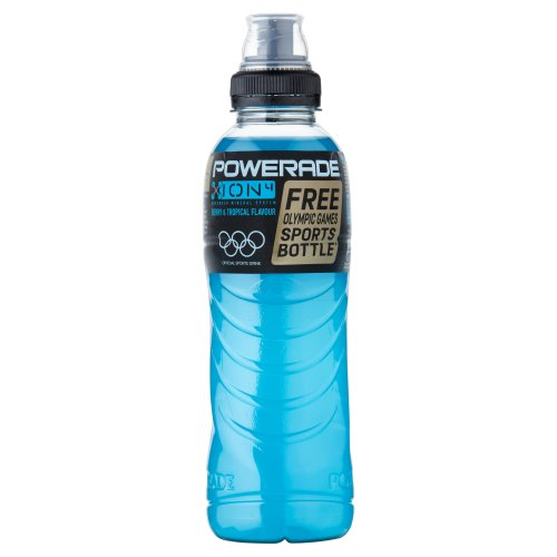 Powerade - Ice Storm, Botella 50 cl (Pack de 12)
