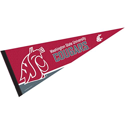 College Flags & Banners Co. Washington State University Pennant Full Size Felt