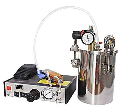Hyy-yy Sistema de dispensador de pegamento digital automático Configuración del sistema Configuración del sistema de controlador + tanque de presión de acero inoxidable (personalizable) + válvula de d