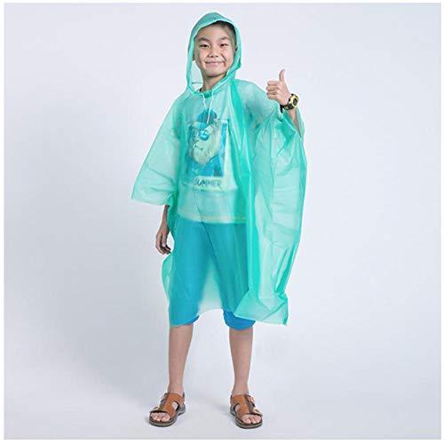 MULMF wegwerp kinder poncho regenjas waterdicht transparant kinderen Capa De Chuva Infantil Menino regenkleding Camping Pluie regenjas