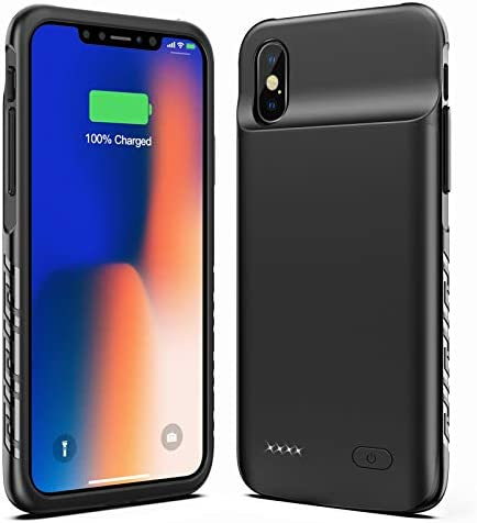 New Version Swaller Battery Case for iPhone X XS 10 4000mAh Slim Portable Charging Case Protective product image
