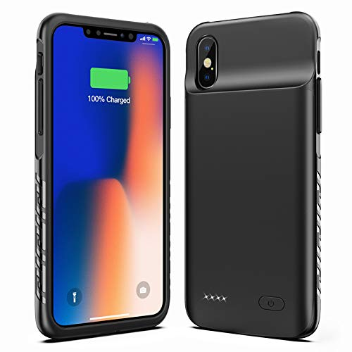 new-version-swaller-battery-case-for-iphone-x-xs-10-4000mah-slim-portable-charging-case-protective-rechargeable-charger-case-extended-battery-compatible-with-iphone-x-xs-10-5-8-inch-black