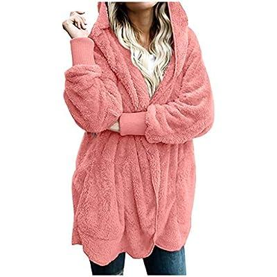 Womens Jacket Winter Coat Women Cardigans Ladies Warm Jumper Fleece Coats Button Wool Outwear Plus Size 3XL