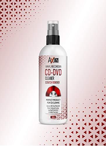 100ML profesional vinilo limpiador CD DVD limpieza fluido Spray fórmula