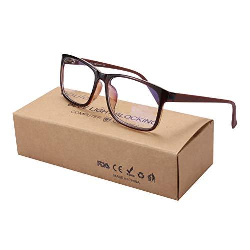 Kappha Blaulichtfilter Brille Hoher Schutz Gaming Brillen für PC Handy und Fernseher Anti-Müdigkeit Anti-Blaulicht UV Schutz