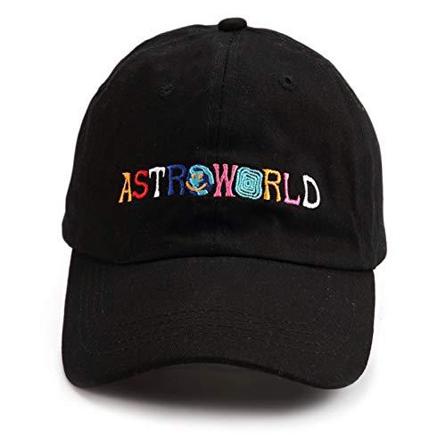 GorradeBeisbol,Carta Gorra De Béisbol Astroworld, Personalidad Unisex Travis Scott World Star Cap