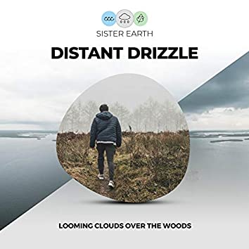 Distant Drizzle: Looming Clouds Over the Woods