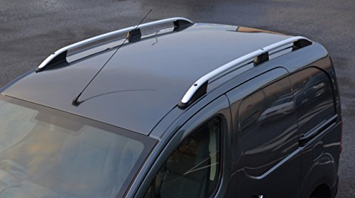 Barras de techo de aluminio, Adecuado para Berlingo SWB (2008+), de ALVM Parts & Accessories