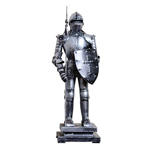 SY-Home Escultura de Estatua de Armadura Romana Antigua de m