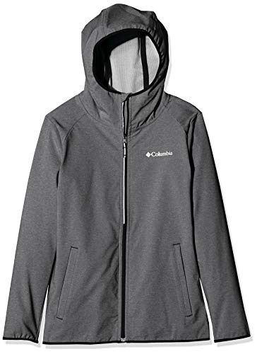 Columbia Heather Canyon, Giacca Softshell Unisex Bambini, Black, S