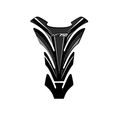 Protector DE Tanque Moto para NC750 NC750X NC 750S Accesorios de Motocicletas de Fibra de Carbono Etiqueta Protectora del Protector Calcomanías de Motociclismo (Color : G)