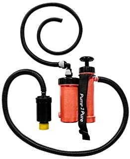 Seychelle Water Filtration 1-27703 Pocket Pump 2 Pure with Ionic-Adsorption Micro-Filtration Technology, Polyethylene