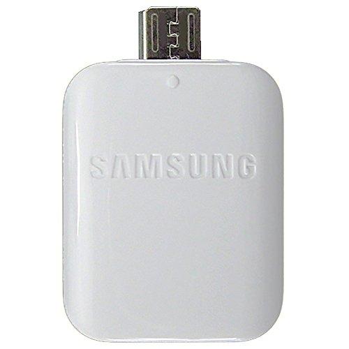 Samsung - Adaptador Original Samsung EE-UG930 OTG USB a Micro-USB para Galaxy S7, S7 Edge, Blanco, Bulk