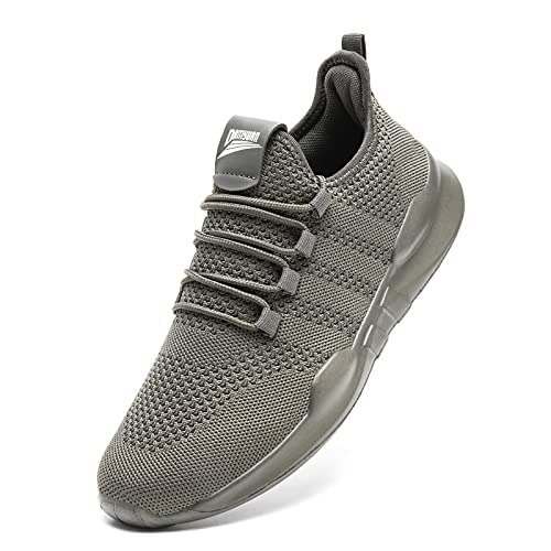 Mens Trainers Running Shoes for Men Walking Tennis Gym Casual Lightweight...