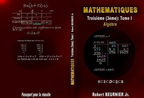 Livre de Mathématiques Algèbre -...
