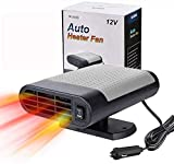 car plug in fan cheap winter car kits portable car heater Car Heater Portable Car Heater 12V 150w Winter Auto Windshield Fast Defroster Defogger with Heating Cooling-Black gray