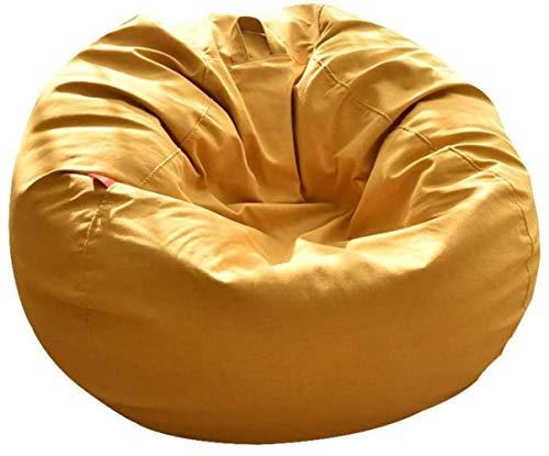 LIUBINGER Silla de Oficina Sofá puf, Casual Tela nórdica Creativo Simple Desmontable y Lavable del Ordenador del sofá reclinable