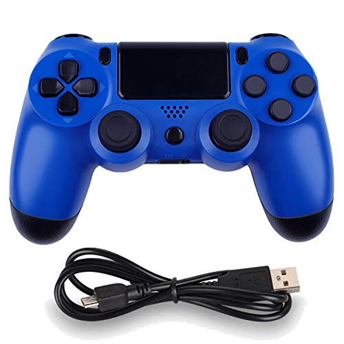 Draadloze controllers voor PS4 Playstation 4 Dual Shock zes-as, Bluetooth Remote Gaming Gamepad Joystick Blauw