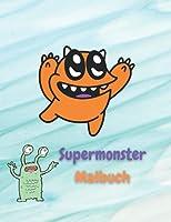Libro da colorare di mostri per bambini dai 2 agli 8 anni: mostro super divertente per bambini e bambine che amano i mostri!