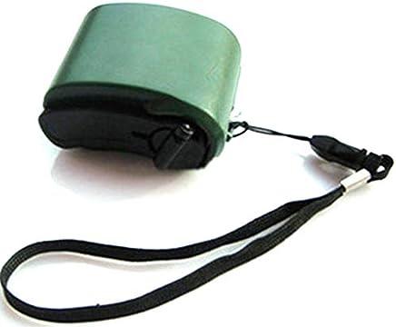 Clockeikic Mini Hand-Crank USB Radio Flashlight Phone Charger Power Generator Charger