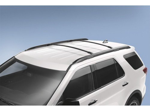 Ford GB5Z-7855100-AB Black Roof Rack Cross Bar, 2 Piece