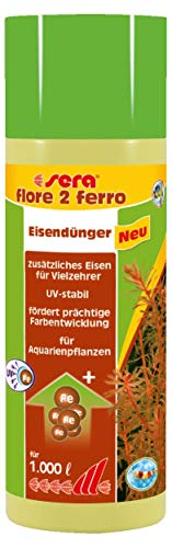 sera 03345 flore 2 ferro 250 ml - Eisendünger für prächtige Farbentwicklung