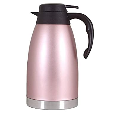 Amazing Camel Thermal Carafe Stainless Steel Coffee Double Walled Vacuum Thermos