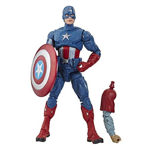 Marvel Legends Series Avengers: Endgame 15 cm große Captain America Action-Figur zum Sammeln