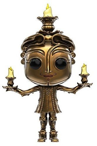 Funko - Lumiere figura de vinilo, colección de POP, seria Beauty & The Beast 2017 (12319)