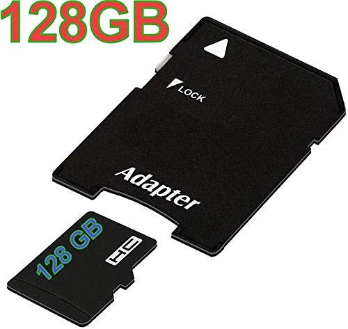tomaxx Micro SDHC Speicherkarte für Motorola G7, Motorola G7 Plus, Motorola G7 Play, Motorola G7 Power, Huawei P Smart 2019 128GB, Honor View 20 UHS-1 Class 10 Karte inkl. SD-Adapter