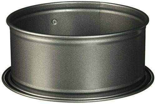 """Leakproof Springform Pan, 7 Inch, Charcoal """"cake pans Baking supplies Baking pan Nonstick pan Kitchen set Muffin pan Cake pan Baking set Cake Mini cake pans"""