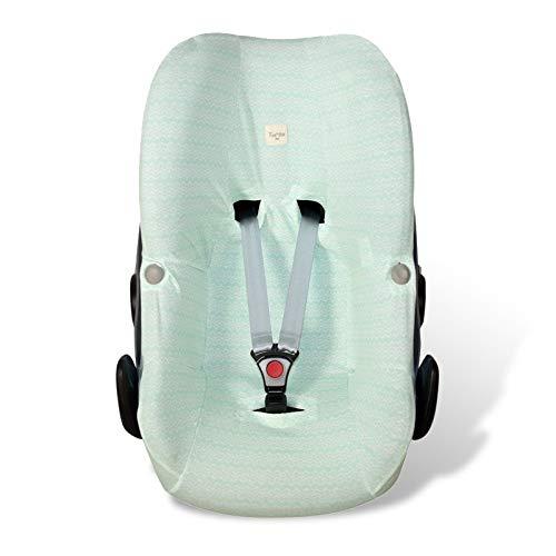 Fundas BCN ® - F33 - Funda para silla de coche de grupo 0 Bébé Confort Pebble ® - Diversos estampados (Green Bay)