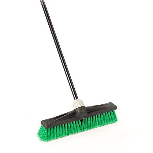 O-Cedar Professional 18' Multi-Surface Push Broom, Green