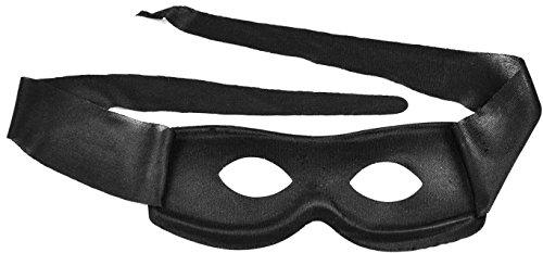 Simplicity Men / Women Black Costume Villain Eye Mask