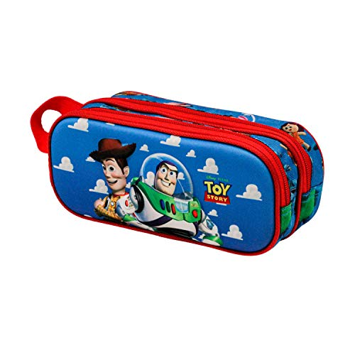 KARACTERMANIA Toy Story Buzz & Woody-Trousse 3D Double Multicolore