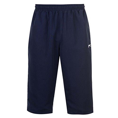 Slazenger Pantalon de survêtement 3/4 pour homme - Bleu - Medium