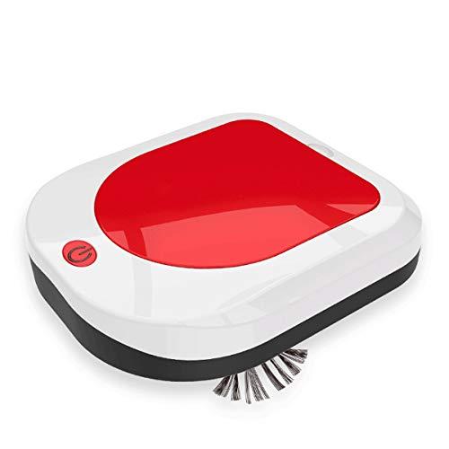 A-myt Alta Potencia, Gran Capacidad Inicio Inteligente Automático Inteligente Succión Inteligente y Robot Inteligente Inteligente Limpio y Limpio (Color : Red)