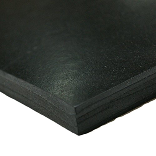 "Rubber-Cal - Styrene Butadiene Rubber - (SBR) Rubber Sheet & Rolls - 1/8"" Thick x 3ft Width x 10ft Length"