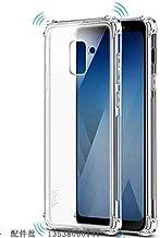 Jaorty Case for Samsung Galaxy A8 2018 Case,Crystal Clear Reinforced Corners TPU Bumper Cushion Anti-Scratch Hybrid Rugged Transparent Back Cover Case for Samsung Galaxy A8 2018,Clear