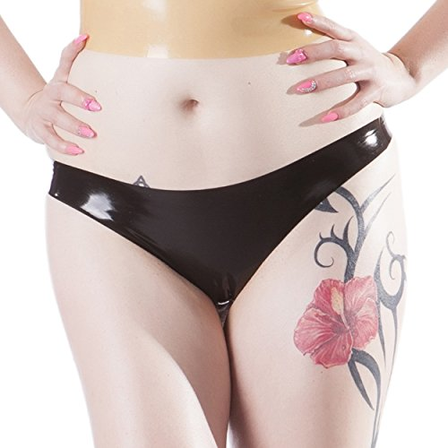 Rubberfashion Latex String - Latexstring Tanga Slip mit veredelter Oberfläche