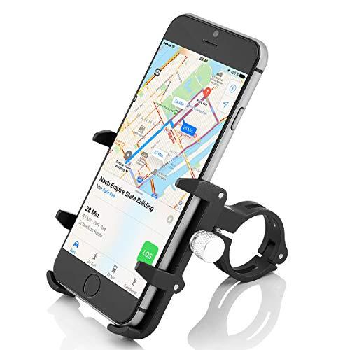 GUB PRO3 Universal Bike Fahrrad Motorrad Halterung für Handy, Smartphone, Navi usw. Schwarz - 2