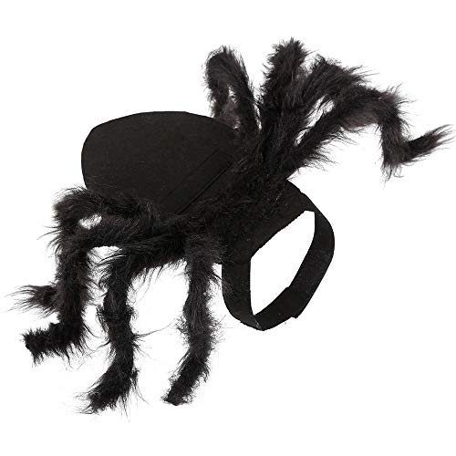 Haustier Kleidung, Spinne Cosplay Haustier Kostüm für Katze Hund,Spinne Fledermaus Rollenspiele Anzieh Kleidung für Party Weihnachten Halloween