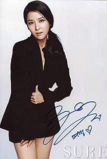 チョ・ヨジョン趙如晶直筆サイン韓国女優/パラサイト 半地下の家族/完璧な妻