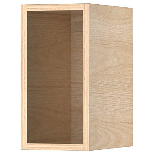 TUTEMO armario abierto 19.9x36.6x40 cm ceniza