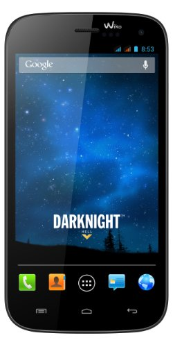Wiko Darknight Smartphone (12,7 cm (5 Zoll) IPS HD-Touchscreen mit Gorilla Glas, 8 GB interner Speicher, Android 4.2) dark blau