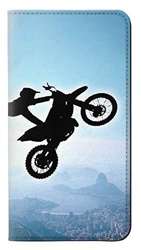 Extreme Freestyle Motocross Flip Case Cover Custodia per iPhone 7 Plus, iPhone 8 Plus