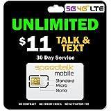 SpeedTalk Mobile $11/Month - Unlimited Talk & Te