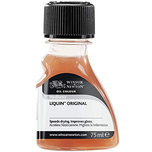 Winsor & Newton WN ADITIVO OLEO LIQUIN ORIGINAL 75ML, brillante, Bote 75 ml