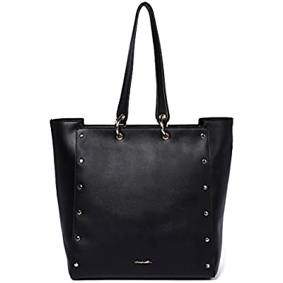 On Clearance - FIGESTIN Women Leather Tote Purse Designer Top Handle Satchel Shoulder Bags for Ladies