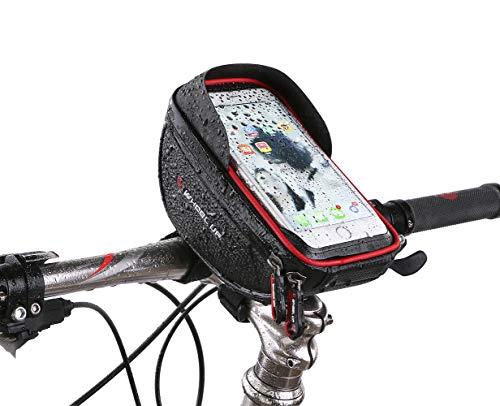 Funda para manillar de bicicleta para iPhone Samsung Galaxy Plus Note y smartphones de hasta 6 pulgadas